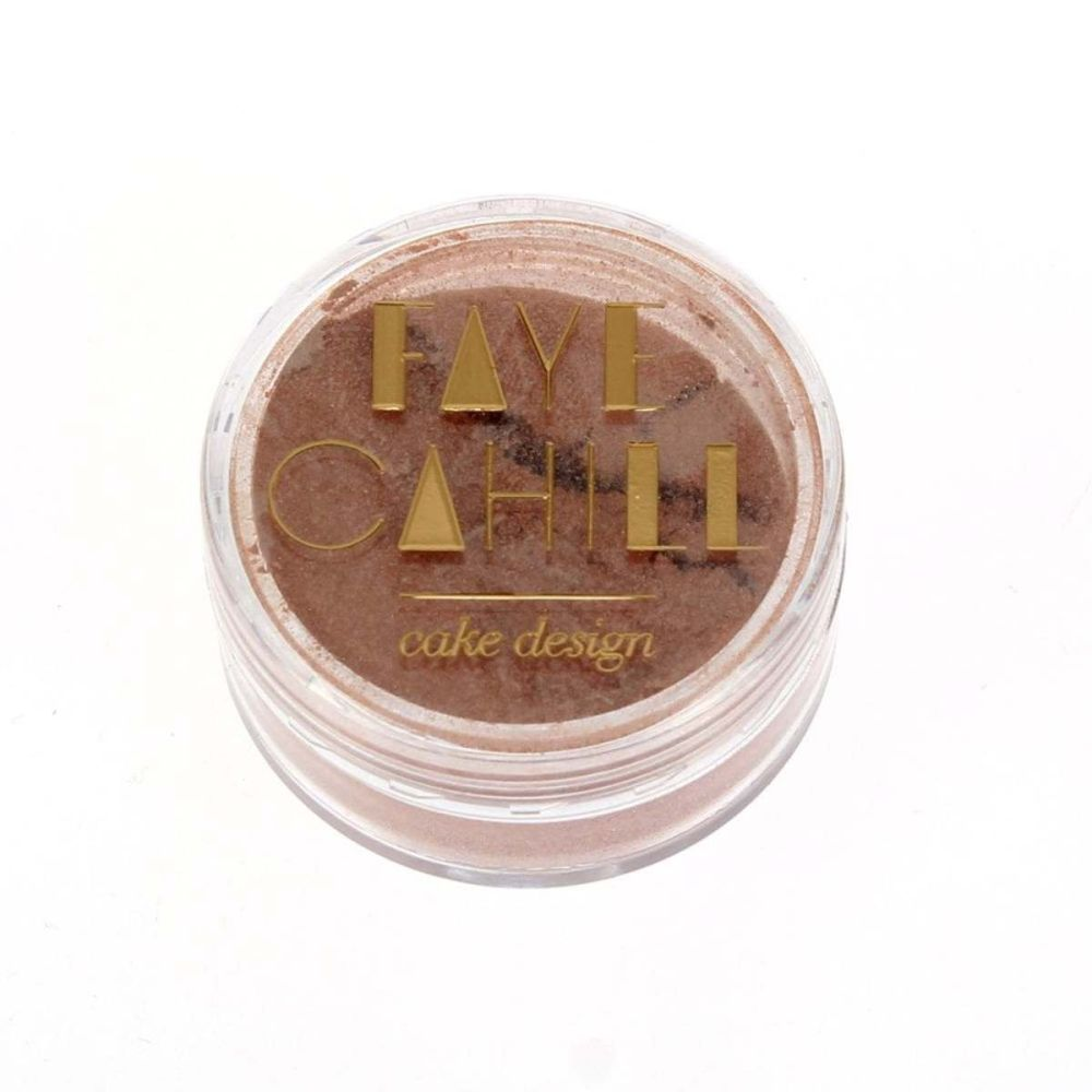 Faye Cahill: BLUSH ROSE GOLD 10ml luxury edible lustre dust icing colour