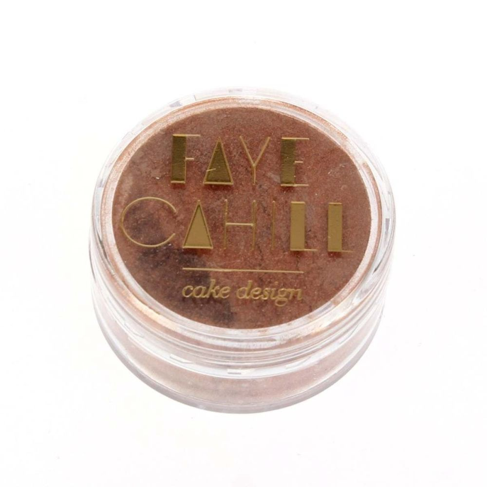 Faye Cahill: ROSE GOLD 10ml luxury edible lustre dust icing colour
