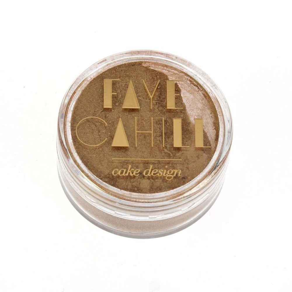 Faye Cahill: SIGNATURE GOLD 10ml luxury edible lustre dust icing colour