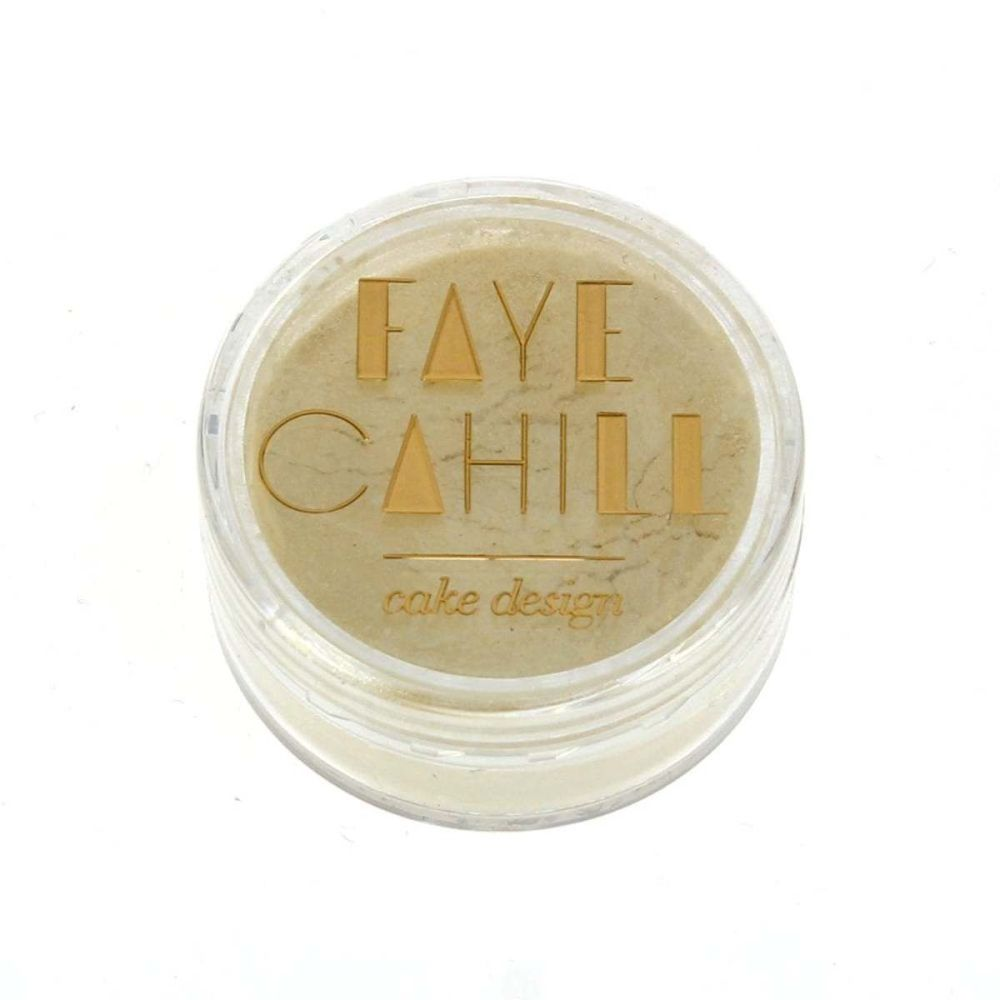Faye Cahill: CREME BRULEE 10ml luxury edible lustre dust icing colour
