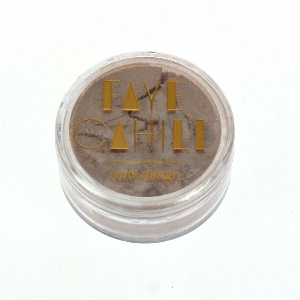 Faye Cahill: NUDE TAUPE 10ml luxury edible lustre dust icing colour