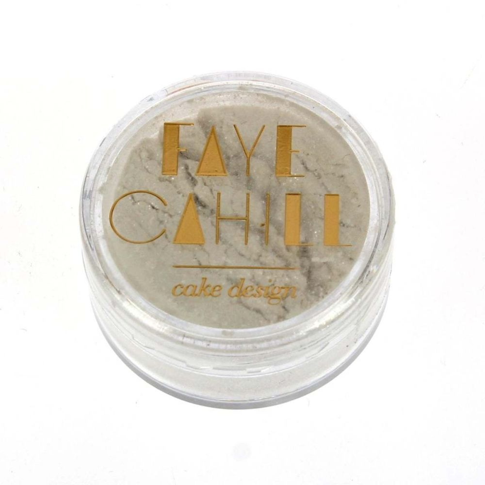 Faye Cahill: GALAXY WHITE 10ml luxury edible lustre dust icing colour