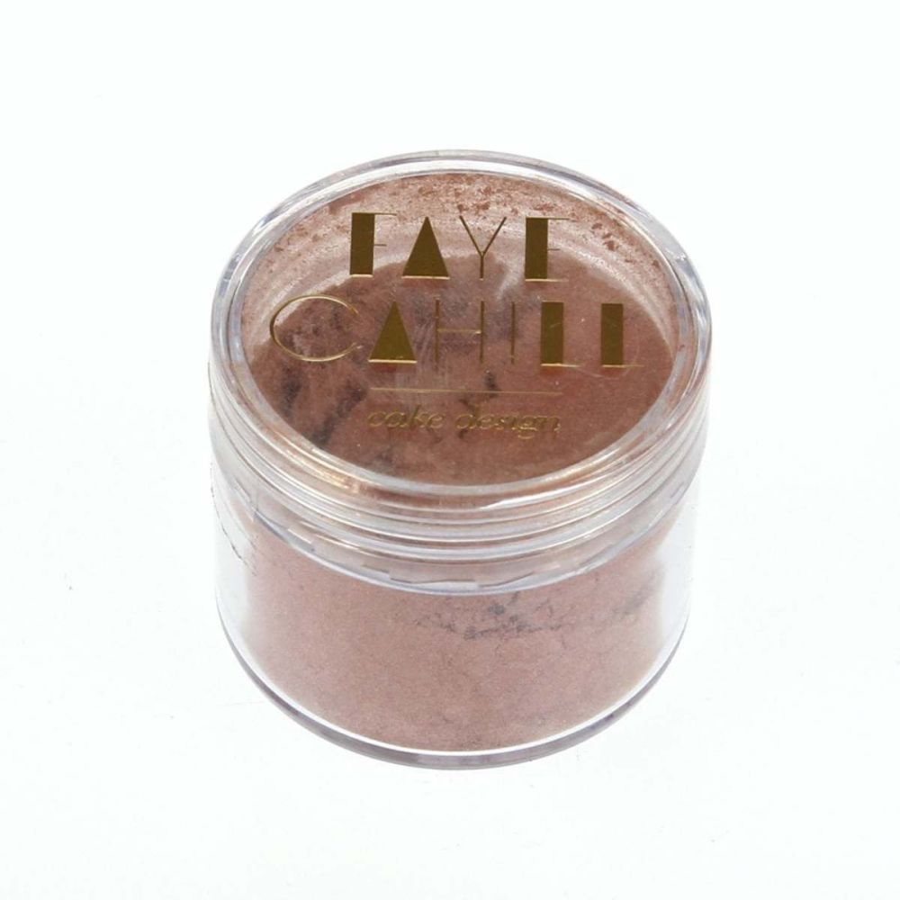 Faye Cahill: BLUSH ROSE GOLD 20ml luxury edible lustre dust icing colour