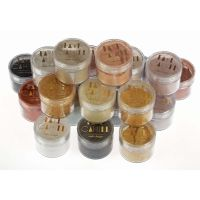 Faye Cahill: FULL SET all 26 x 20ml pots luxury edible lustre dust icing colours - BUNDLE