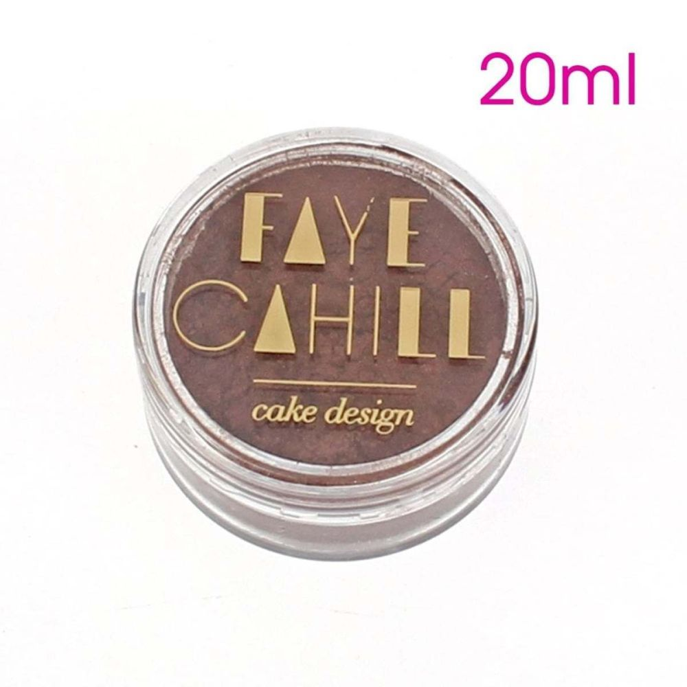 Faye Cahill: MERLOT 20ml luxury edible lustre dust icing colour