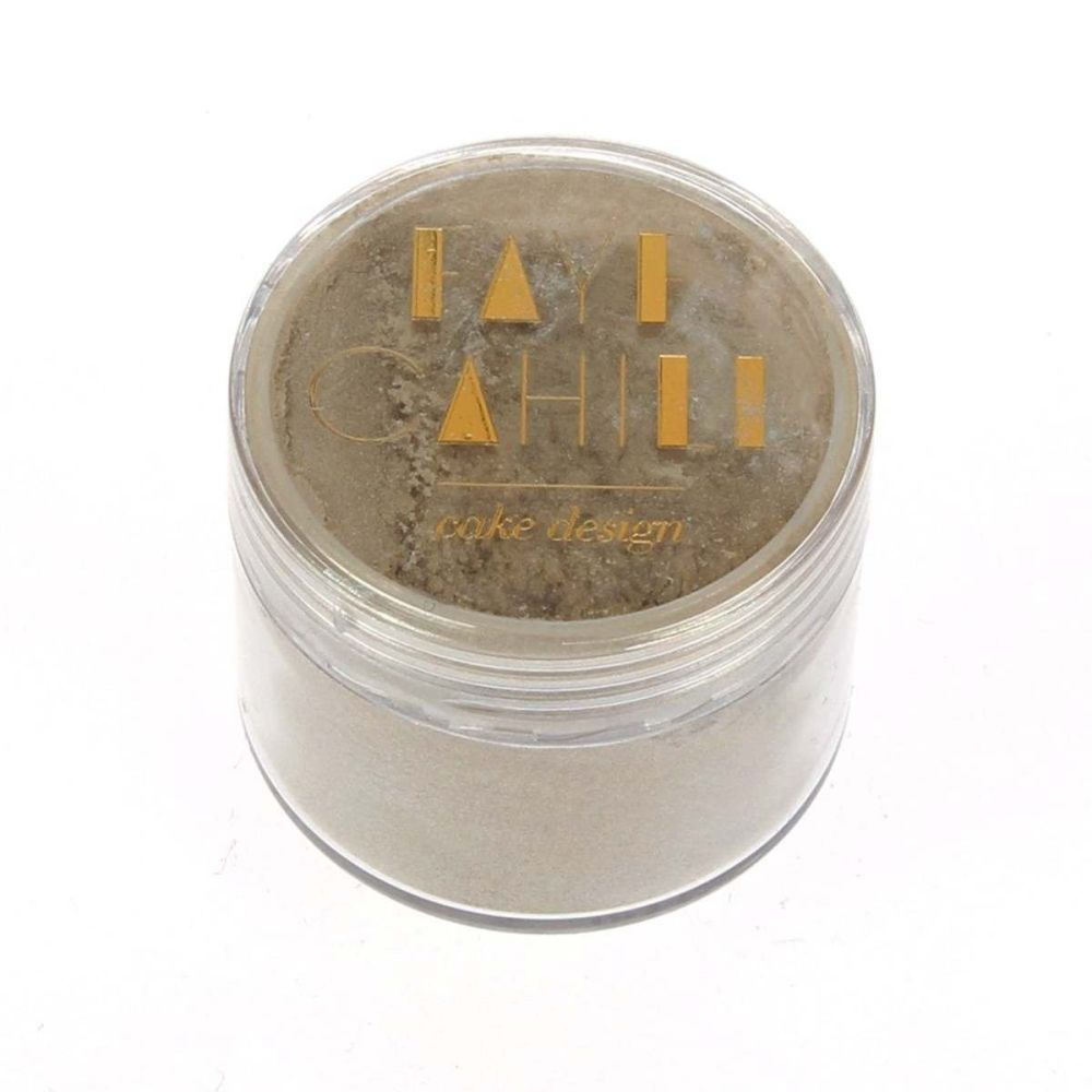 Faye Cahill: MOCHA 20ml luxury edible lustre dust icing colour