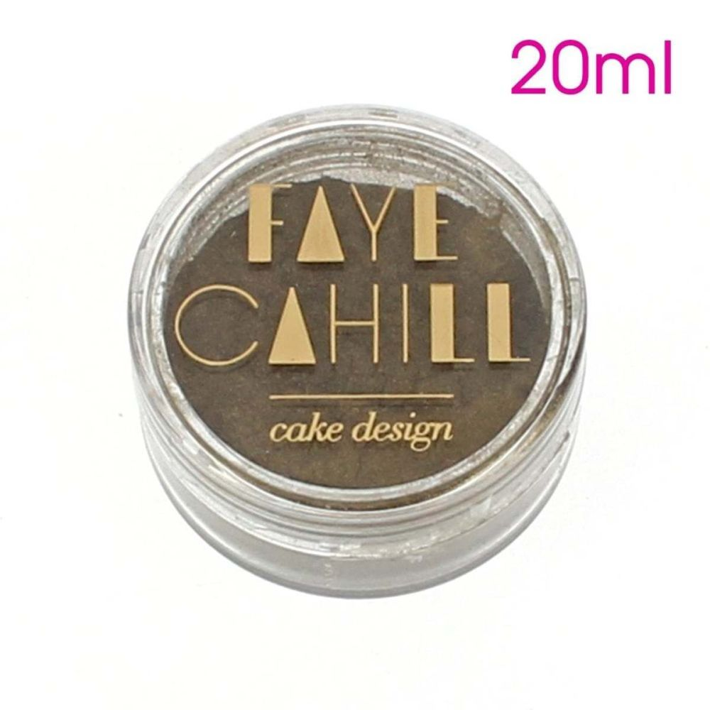 Faye Cahill: OLIVE LEAF GOLD 20ml luxury edible lustre dust icing colour