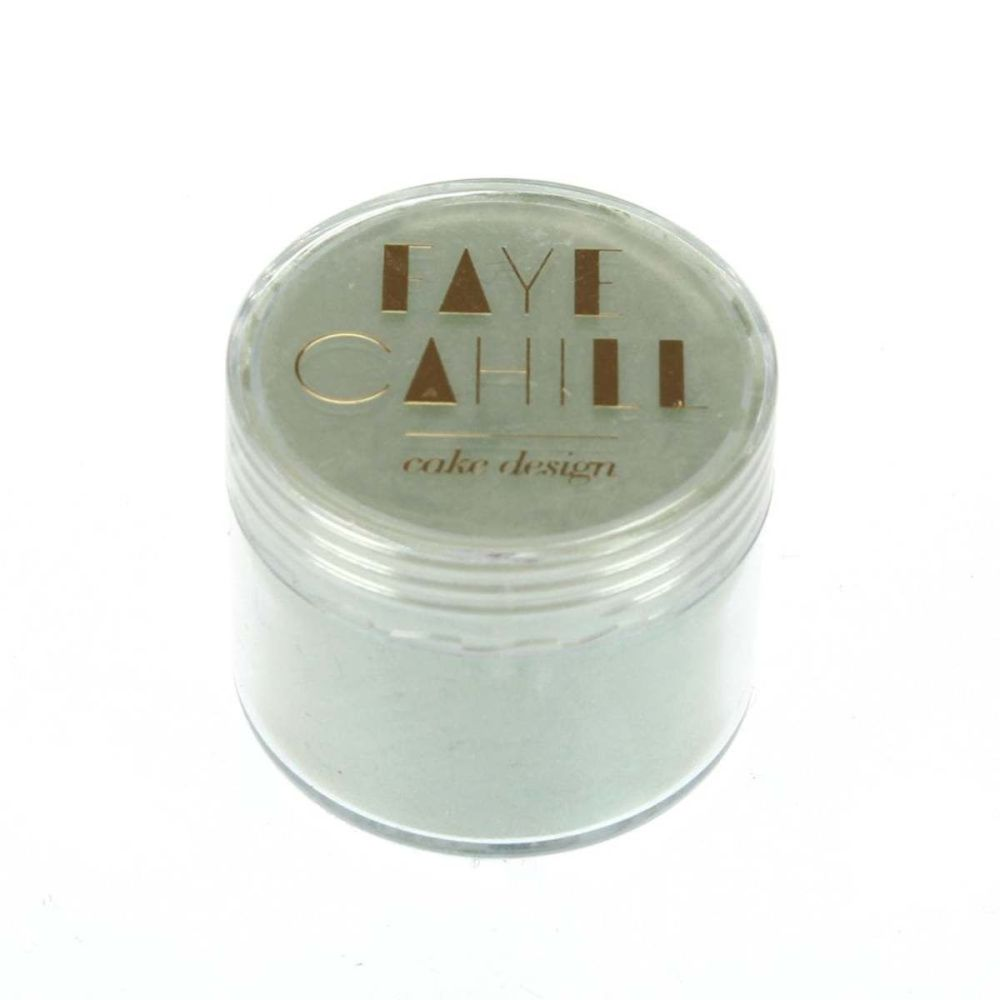 Faye Cahill: PISTACHIO 20ml luxury edible lustre dust icing colour