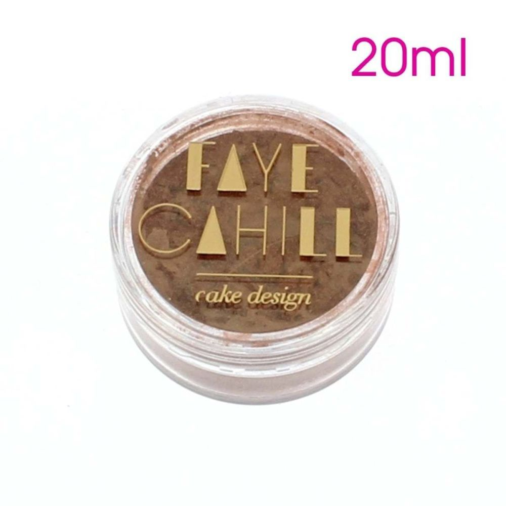 Faye Cahill: COOL BRONZE 20ml luxury edible lustre dust icing colour