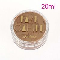Faye Cahill: BRONZE 20ml luxury edible lustre dust icing colour