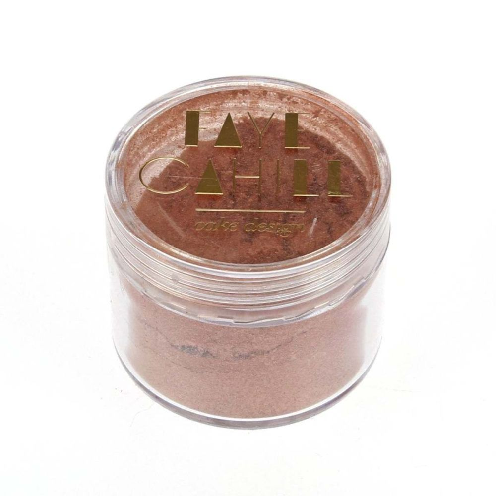 Faye Cahill: ROSE GOLD 20ml luxury edible lustre dust icing colour