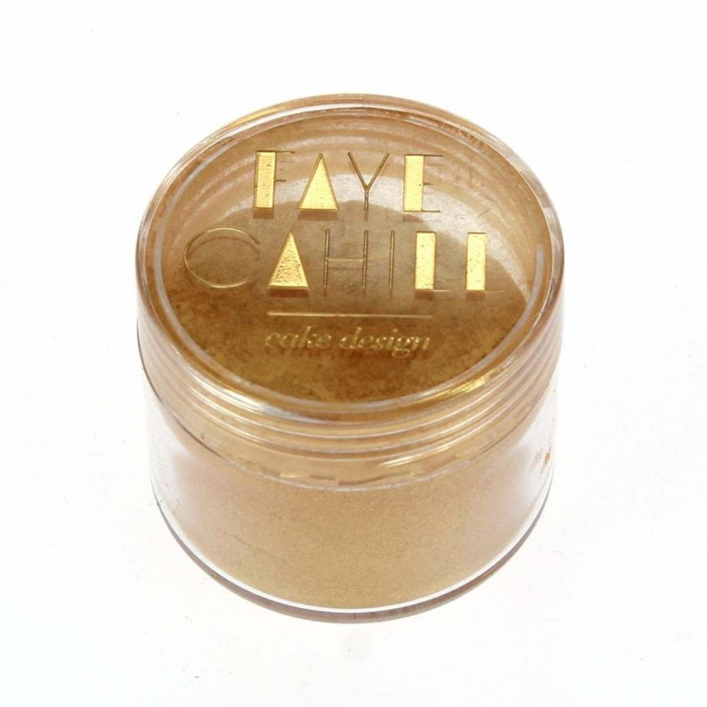 Faye Cahill: REGENCY GOLD 20ml luxury edible lustre dust icing colour