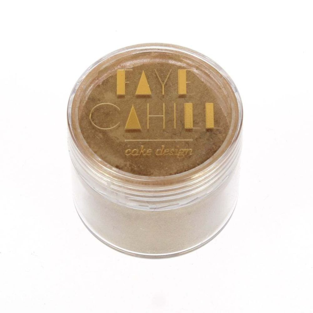 Faye Cahill: SIGNATURE GOLD 20ml luxury edible lustre dust icing colour
