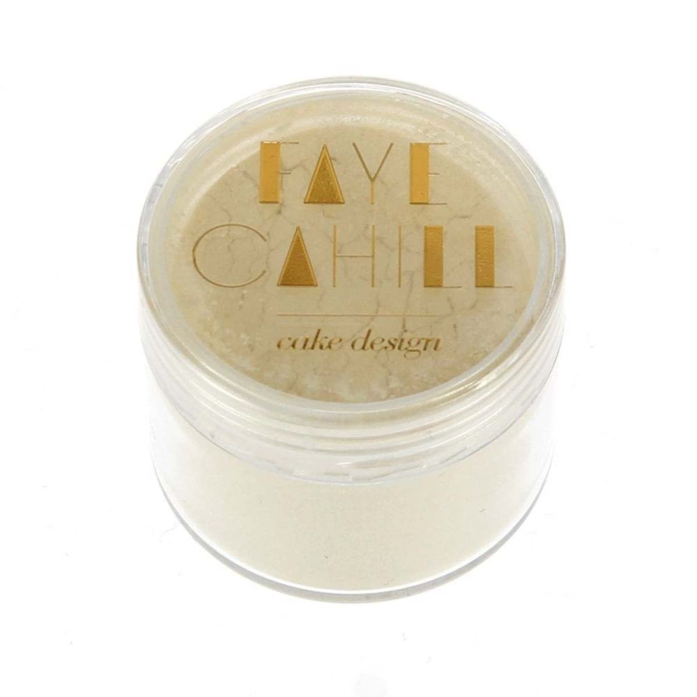 Faye Cahill: CREME BRULEE 20ml luxury edible lustre dust icing colour