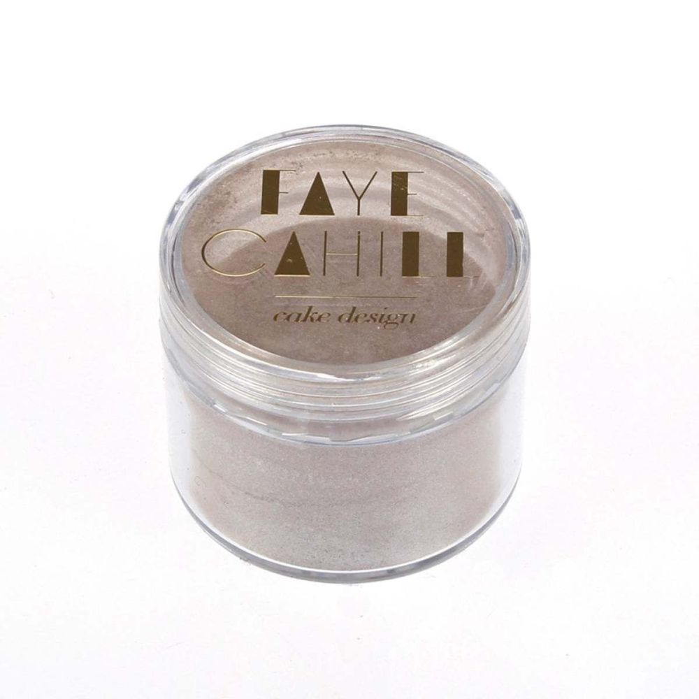 Faye Cahill: NUDE TAUPE 20ml luxury edible lustre dust icing colour