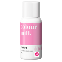 Colour Mill CANDY PINK oil based concentrated icing colouring 20ml