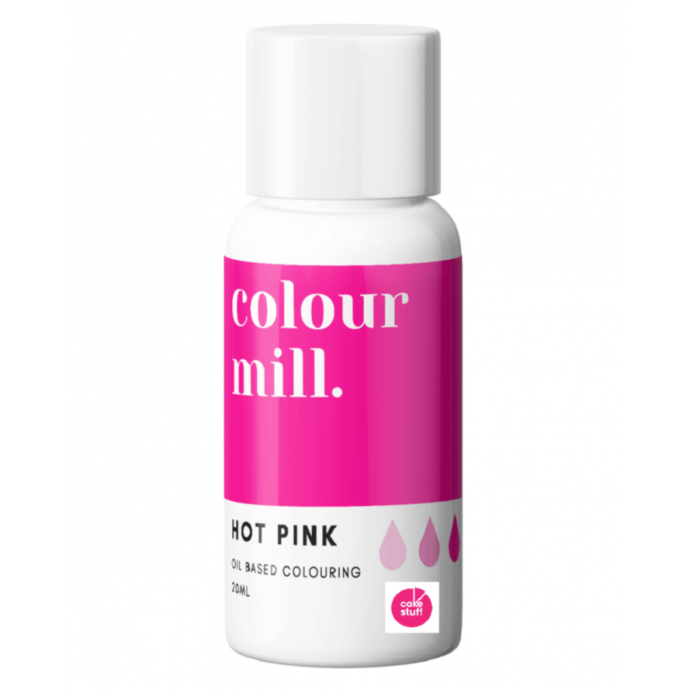 Colour Mill HOT PINK oil based concentrated icing colouring 20ml