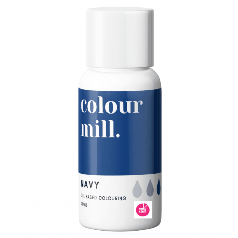 Colour Mill NAVY BLUE oil based concentrated icing colouring 20ml