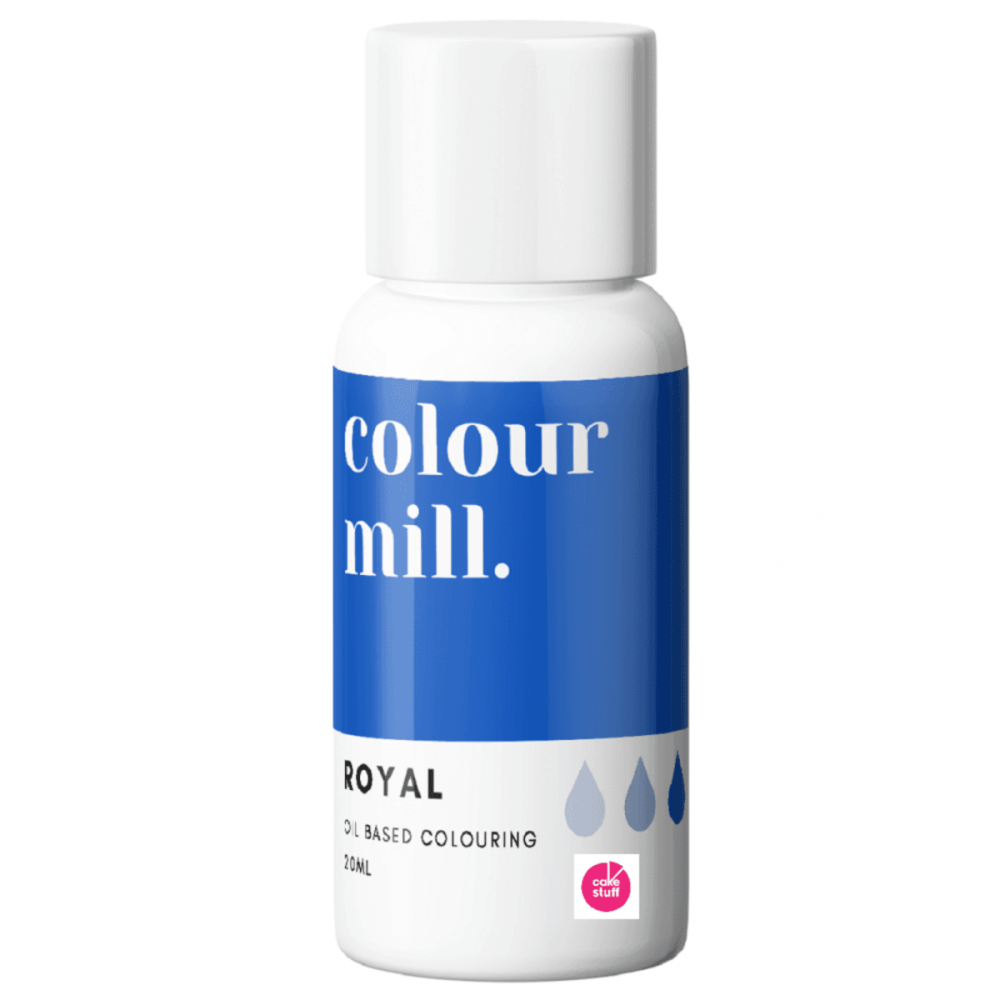 Colour Mill ROYAL BLUE oil based concentrated icing colouring 20ml