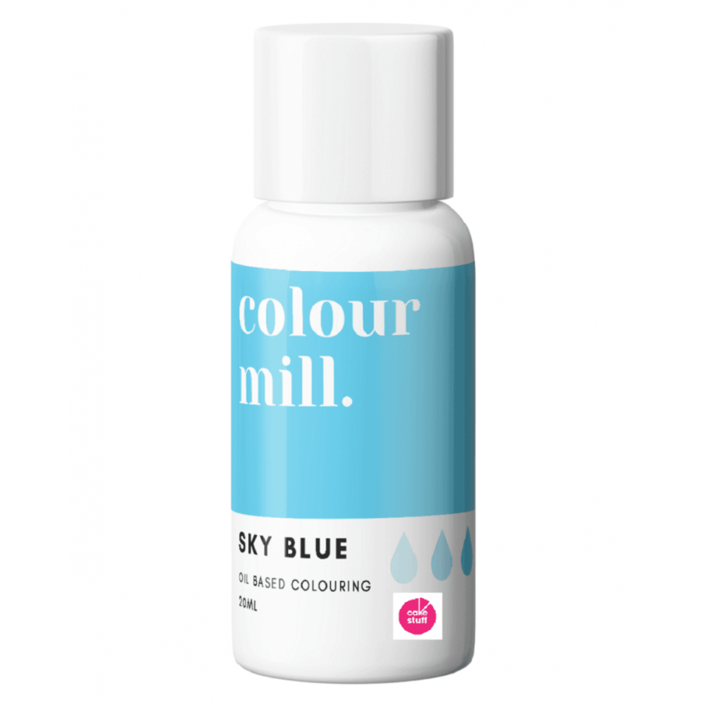 Colour Mill SKY BLUE oil based concentrated icing colouring 20ml