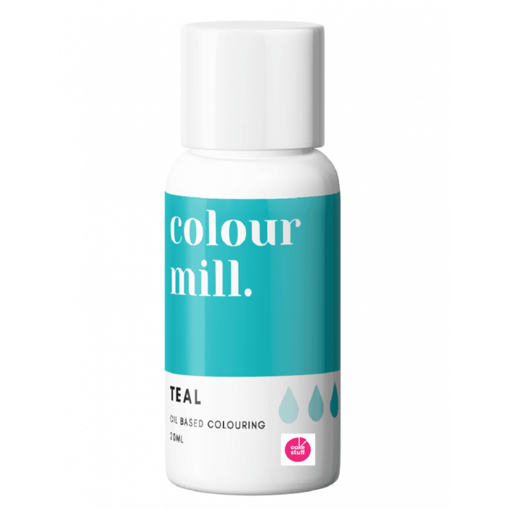 Colour Mill TEAL oil based concentrated icing colouring 20ml