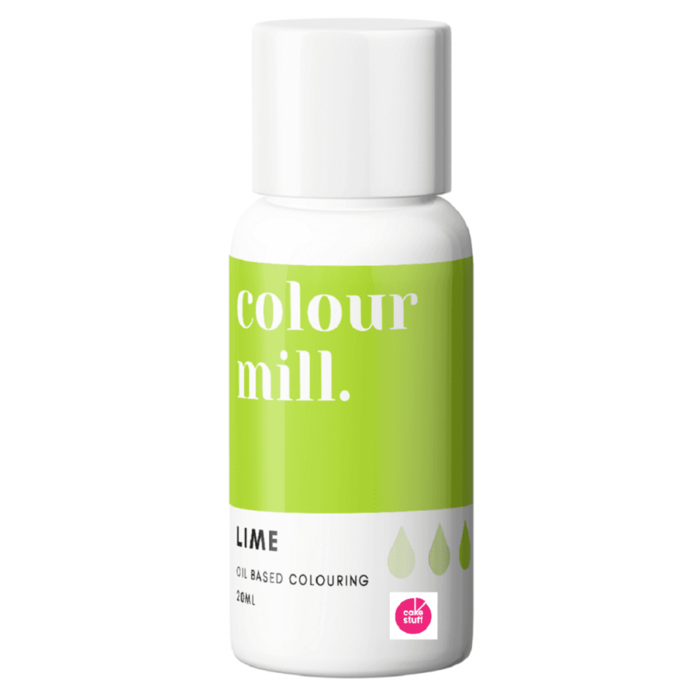 Colour Mill LIME GREEN oil based concentrated icing colouring 20ml
