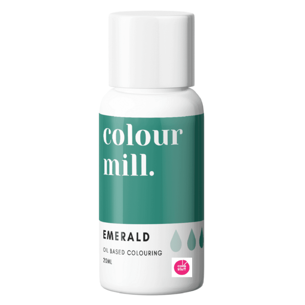 Colour Mill EMERALD GREEN oil based concentrated icing colouring 20ml