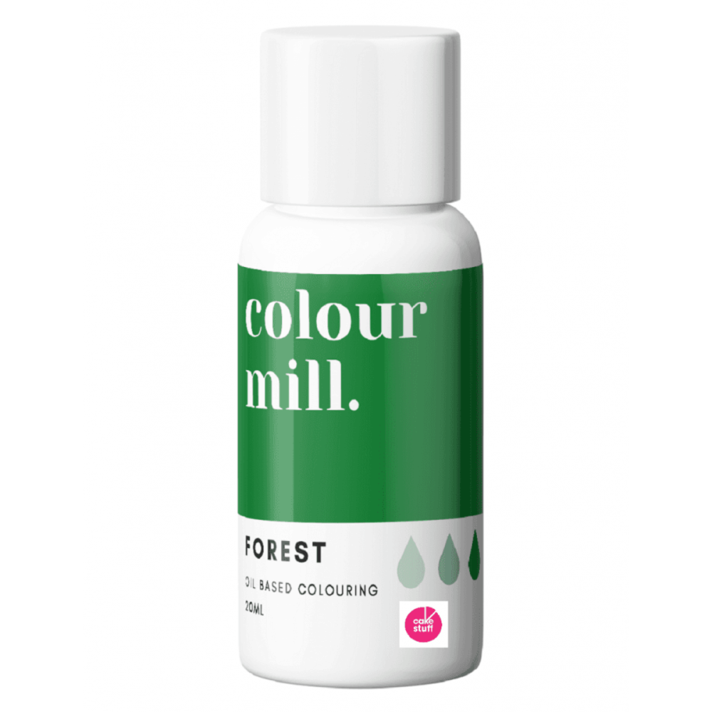 Colour Mill FOREST GREEN oil based concentrated icing colouring 20ml