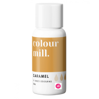 Colour Mill CARAMEL BROWN oil based concentrated icing colouring 20ml