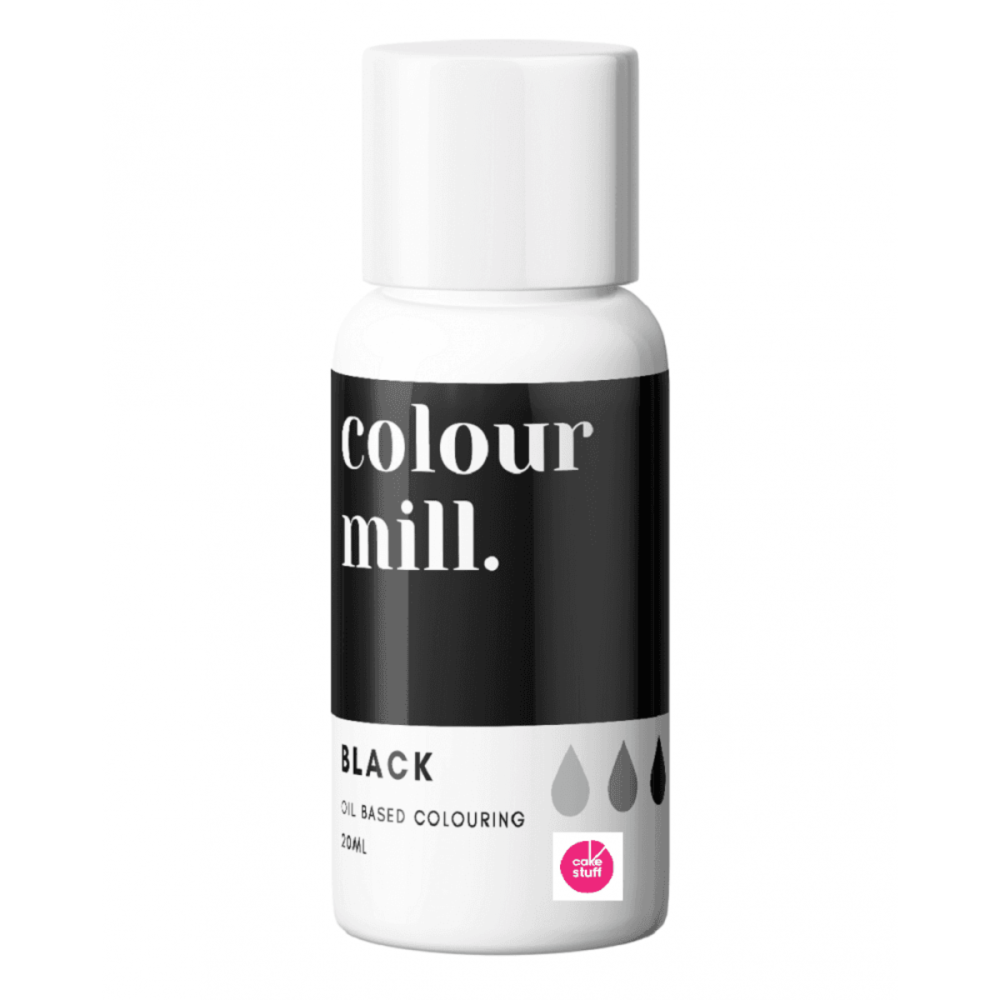 Colour Mill BLACK oil based concentrated icing colouring 20ml