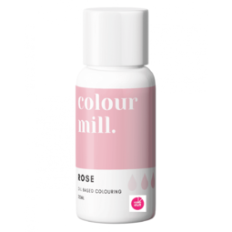 Colour Mill ROSE PINK oil based concentrated icing colouring 20ml