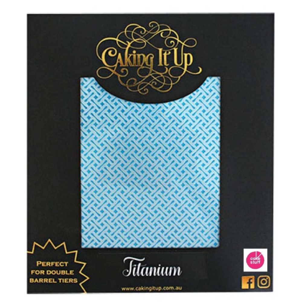 Caking It Up TITANIUM large cake icing stencil by Karen Reeves