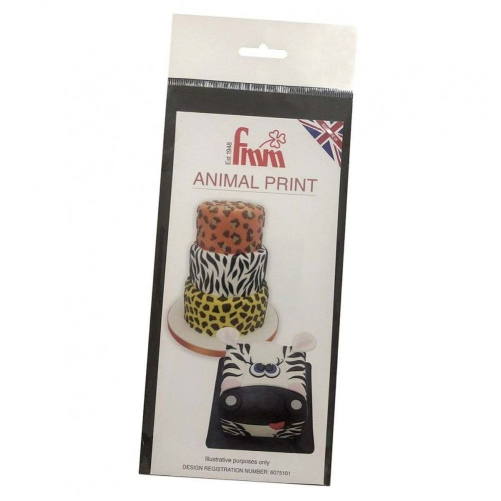FMM ANIMAL PRINT icing sugarcraft cutter set