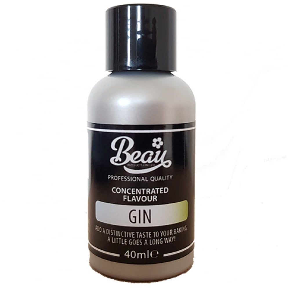 Beau Baking GIN concentrated icing / food flavouring 40ml