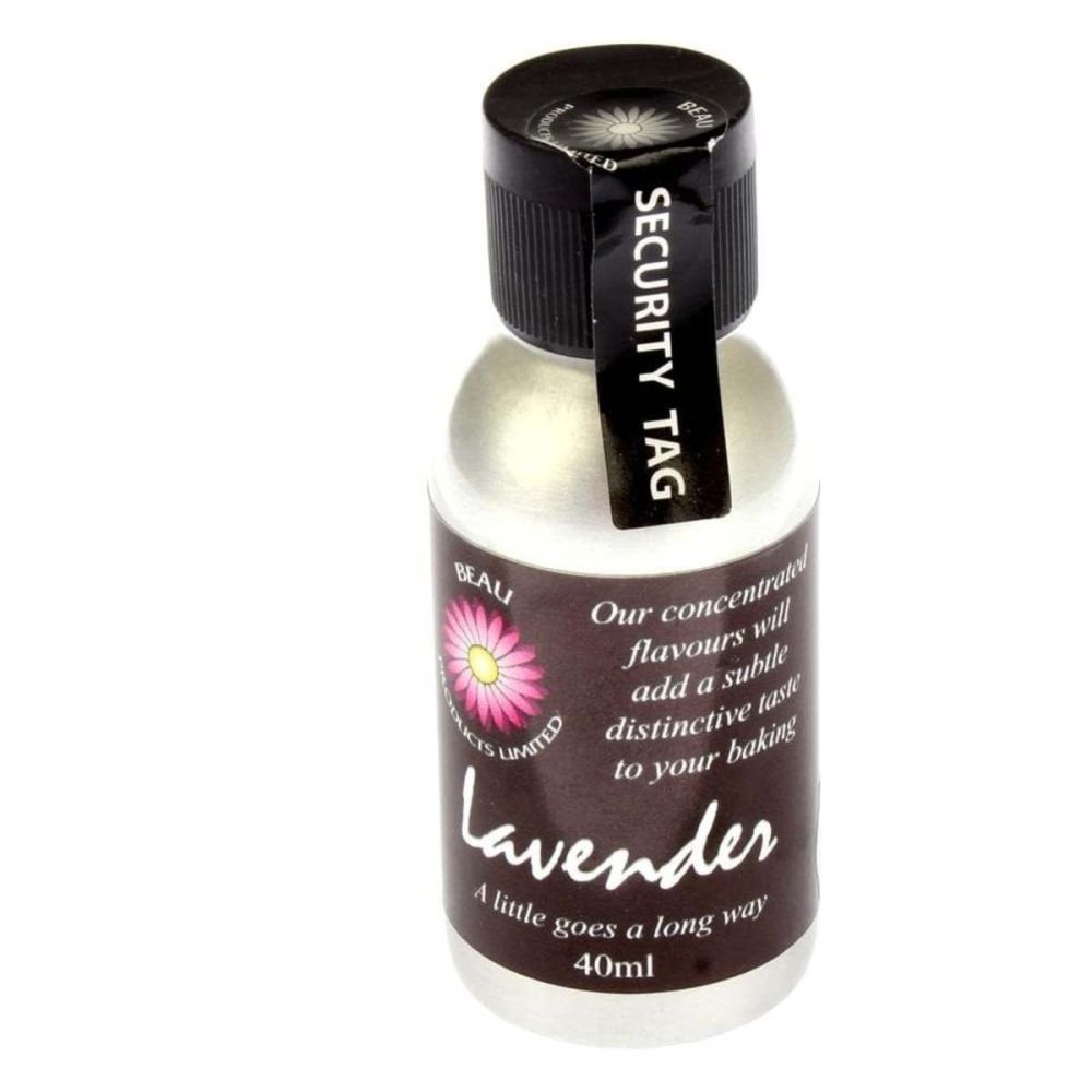 Beau Baking LAVENDER icing / food flavouring 40ml