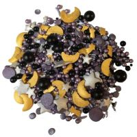 Scrumptious Sprinkletti WIZARD MIX edible confetti & cupcake sprinkles 100g
