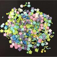 Scrumptious Sprinkletti FLOWER POWER edible confetti & cupcake sprinkles 100g