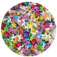 Scrumptious Sprinkletti **CLEARANCE** FIESTA MIX edible confetti & cupcake sprinkles 100g