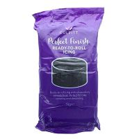 Culpitt Perfect Finish Ready to Roll Icing - Black 1kg - single. 647016