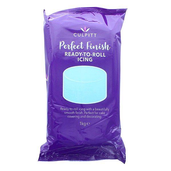 CULPITT: EDIBLE SUGAR PASTE-LGT BLUE-1kg