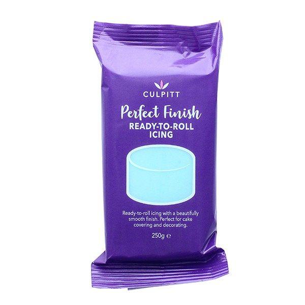 CULPITT: EDIBLE SUGAR PASTE-LGT BLUE-250g