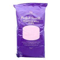 647018  CULPITT: EDIBLE SUGAR PASTE-LGT PINK-1kg - PACK OF 1