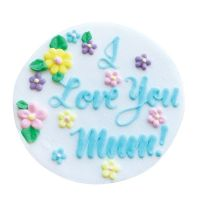 6486  CULPITT: SUGARDEC-I LOVE YOU MUM-75mm - PACK OF 1
