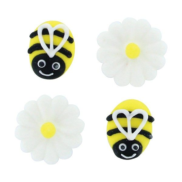 CULPITT: SUGARDEC-PIPING-BEE & DAISY-RP-12PC-25mm