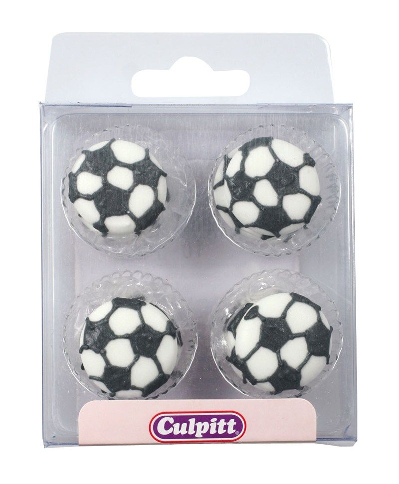 CULPITT: SUGARDEC-PIPING-FOOTBALLS-12PCE-RP-25mm
