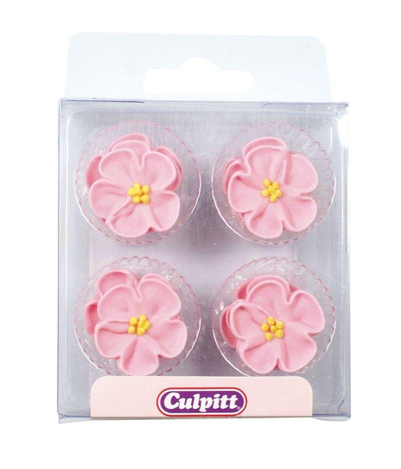 CULPITT: SUGARDEC-PIPING-ROSE-PINK-12PCE-RP-25mm