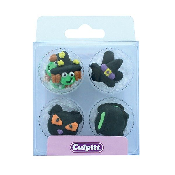 CULPITT: SUGARDEC-PIPING-WITCH & CAT-12PC-RP-25mm