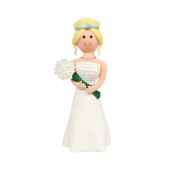 CULPITT: TOPPER-CST-BRIDE-BLONDE HAIR-RP-120mm