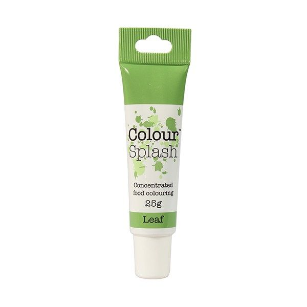 COLOUR SPLASH: COLOUR-CSP-GEL-LEAF GREEN-25g
