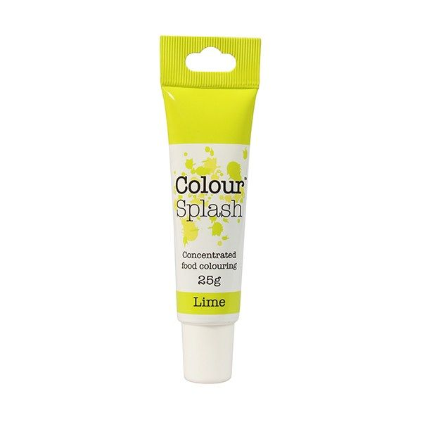 COLOUR SPLASH: COLOUR-CSP-GEL-LIME-25g